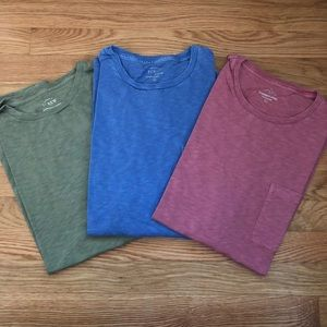 J crew t shirts (3) price is for all three